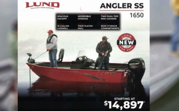 NEW for 2020 Lund 1650 Angler SS